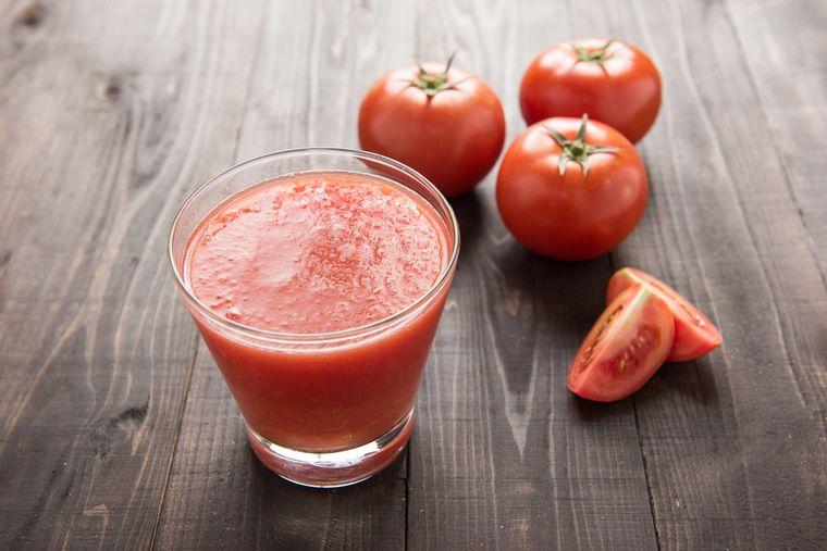 томаты и томатный сок