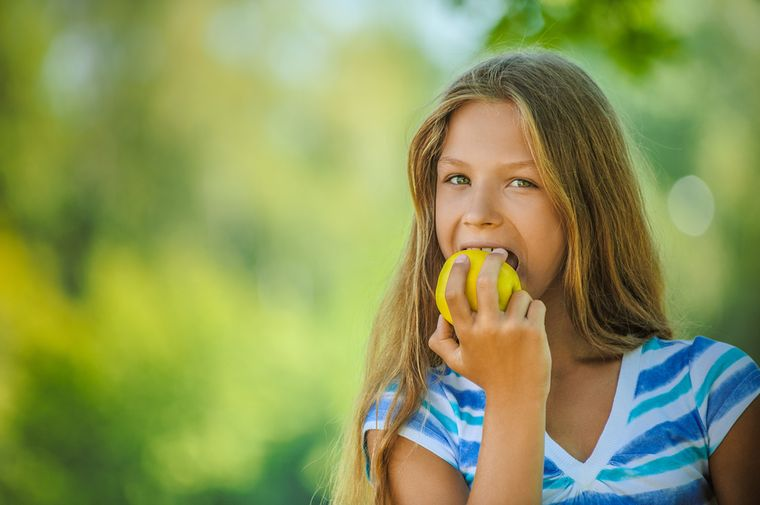 Как похудеть 8 летней девочке