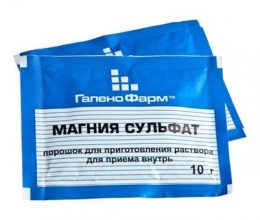 Сульфат магния для похудения