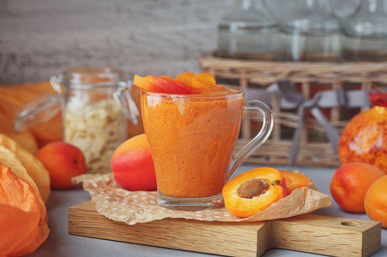 абрикосовый смузи