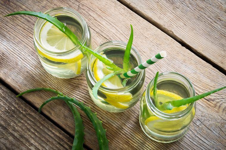 алоэ с лимоном