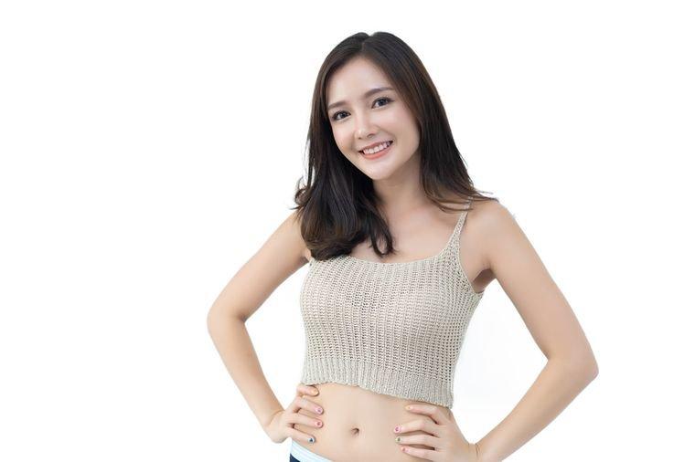 девушка похудела на корейской диете