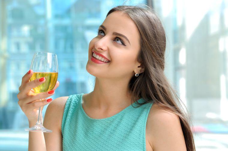 девушка похудела на винной диете