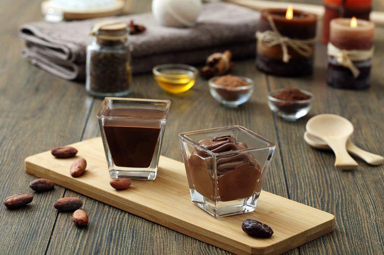 домашний шоколадный скраб