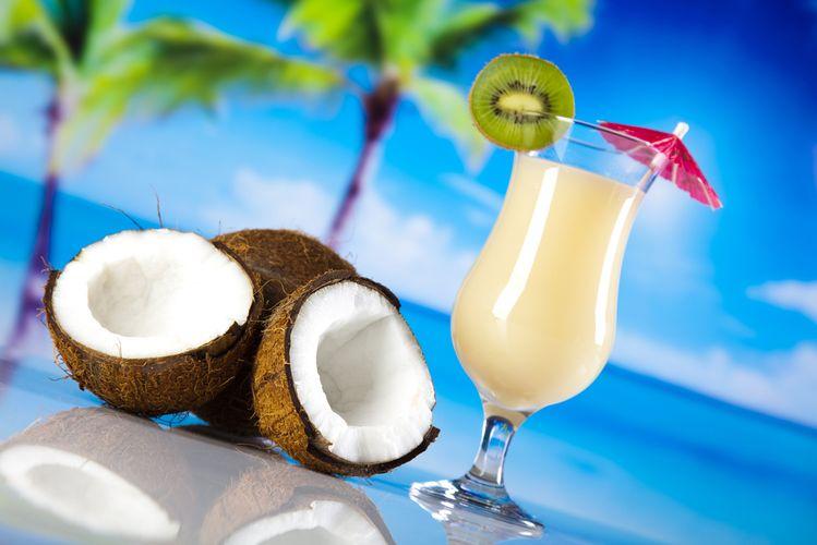 кокосовое молоко с джином
