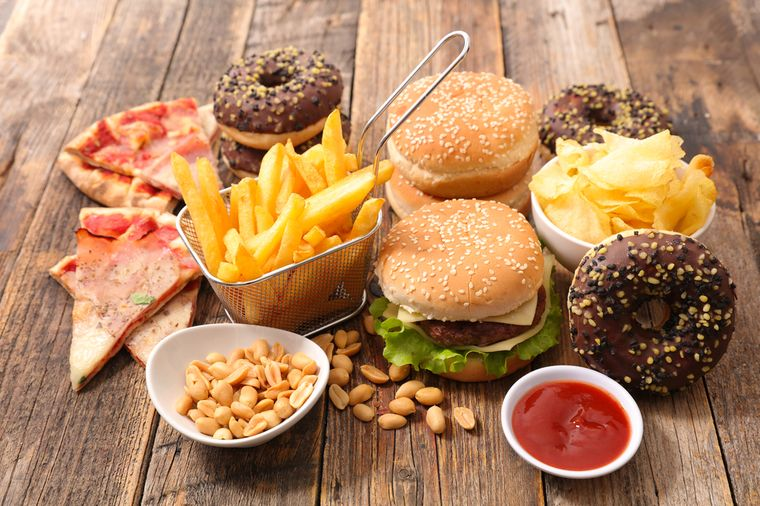 еда с пустыми калориями