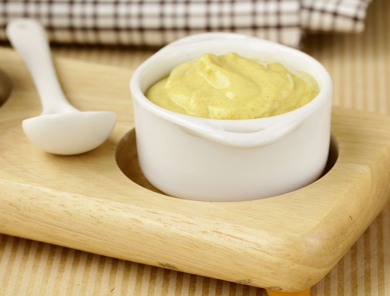 горчица со сметаной