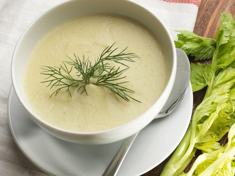 крем-суп из лука