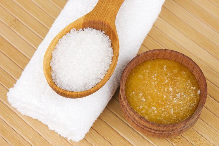 мед с морской солью