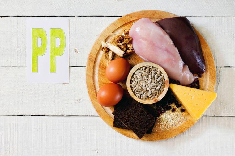 никотиновая кислота ниацин витамин pp