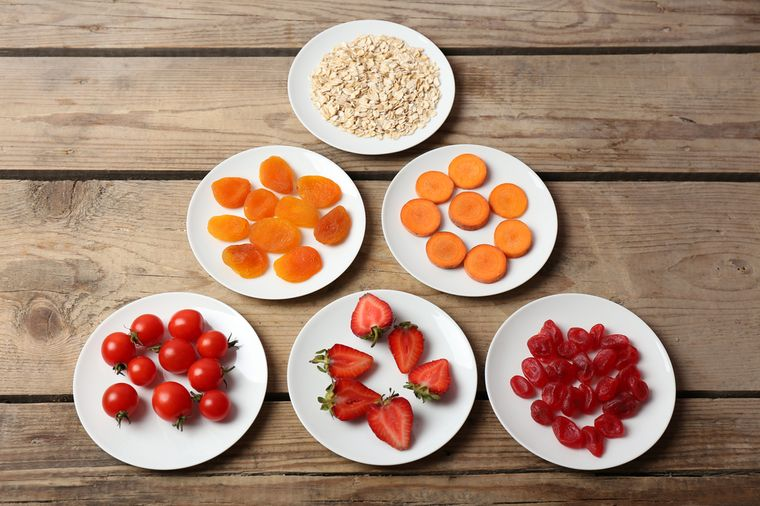 продукты для диеты блюдечко