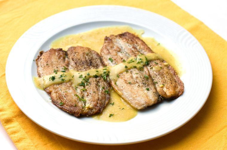 рыба в горчичном соусе