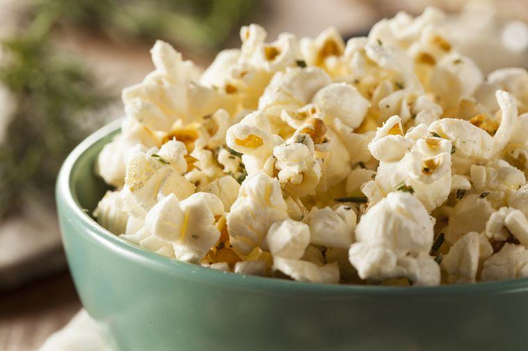 воздушная кукуруза попкорн